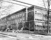 Sharon High School, home of the Tigers